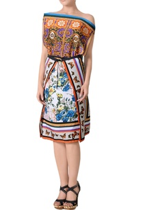 multi-colored-printed-dress