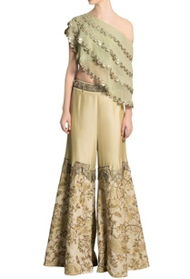 pista-green-cape-ivory-embroidered-pants