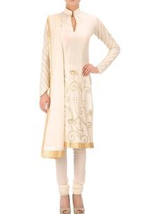 ivory-short-embroidered-kurta-set