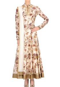 ivory-floral-printed-anarkali-set