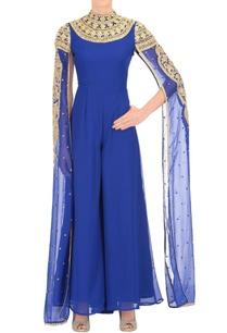 royal-blue-embellished-jumpsuit