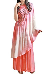 coral-pink-crop-top-with-palazzo-shaded-throw