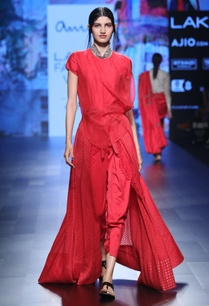 red-benarasi-silk-jumpsuit