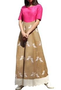 rani-pink-beige-pelican-maxi-dress