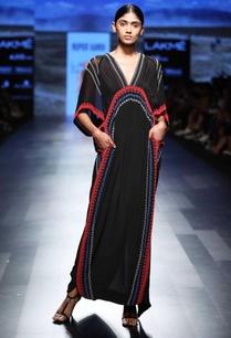 black-beaded-maxi-dress
