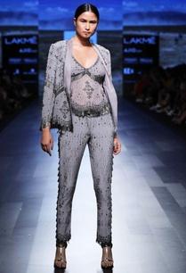 silver-grey-embellished-blazer