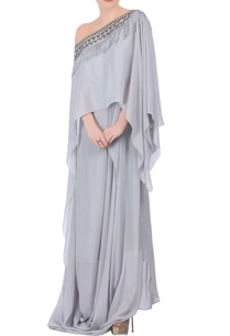 cloud-grey-off-shoulder-jumpsuit