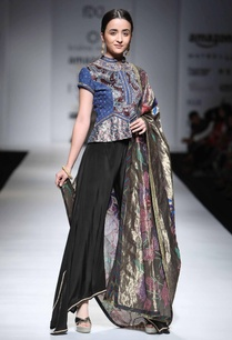 azure-embellished-jacket-with-black-trousers-dupatta