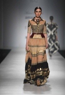 multi-colored-layered-tribal-shirt-dress