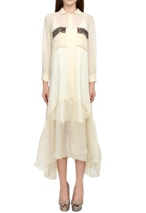 off-white-shirt-dress-with-patch-pockets