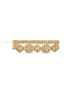 rose-pink-mint-gold-metal-crystal-bracelet