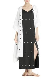 black-polka-dotted-dress