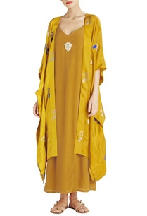 ochre-silk-cape-jacket