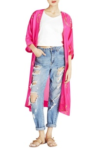 hot-pink-silk-cape-jacket