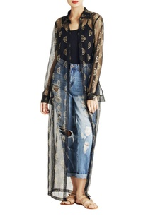 black-arc-print-long-jacket