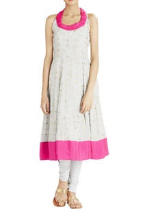 light-grey-gold-printed-anarkali-kurta