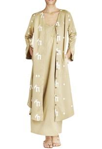 khakee-script-print-long-jacket
