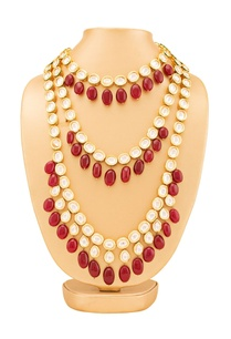 gold-plated-maroon-layered-kundan-necklace