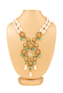 gold-plated-necklace-with-green-stone-accents