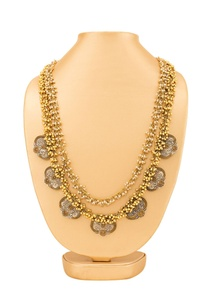 gold-plated-layered-necklace-with-ghungroo-detail