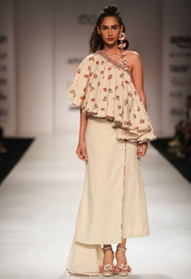 ivory-khadi-one-shoulder-top-with-wrap-skirt