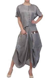 ash-grey-dhoti-skirt