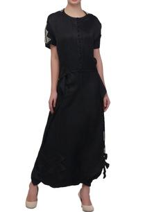 black-lungi-skirt