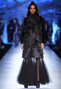 black-tulle-maxi-skirt