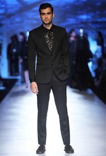 black-sequin-embellished-shirt