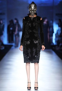 black-velvet-patchwork-dress