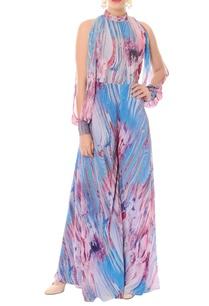 lavender-bougainvillea-pink-printed-jumpsuit