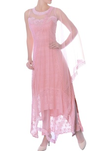 pink-high-low-embellished-kurta-and-churidar-set
