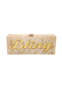 champagne-gold-bling-monogrammed-clutch