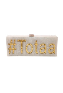 white-gold-totaa-monogrammed-clutch