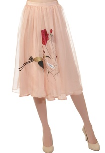 blush-pink-flamingo-skirt