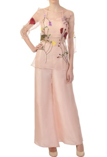 blush-halter-inner-palazzo-pants-with-sheer-over-layer