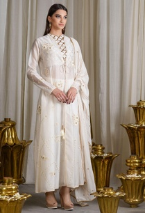 ivory-embellished-jacket-kurta-set