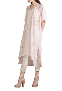 baby-pink-floral-work-tunic