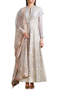 sky-grey-jacket-anarkali-set