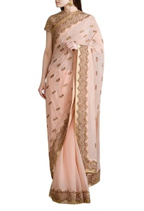 peach-embroidered-sari-with-blouse