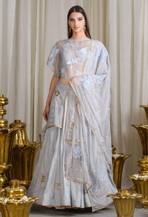 sky-grey-embroidered-lehenga-set