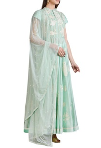 mint-blue-applique-work-anarkali-set
