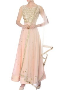 pastel-pink-embroidered-anarkali-with-dupatta