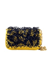 mustard-yellow-bag-with-black-3d-sequins