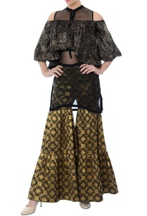black-gold-sharara-pants-with-sheer-inner-crop-top