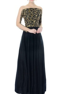 black-embellished-anarkali-gown
