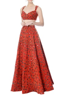 rust-floral-embroidered-lehenga-blouse