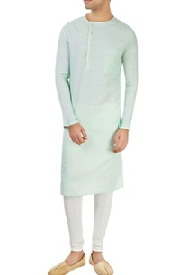 powder-blue-kurta-with-off-center-opening