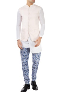 pastel-pink-nehru-jacket-with-patch-pockets