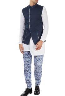 navy-blue-nehru-jacket-with-off-center-opening